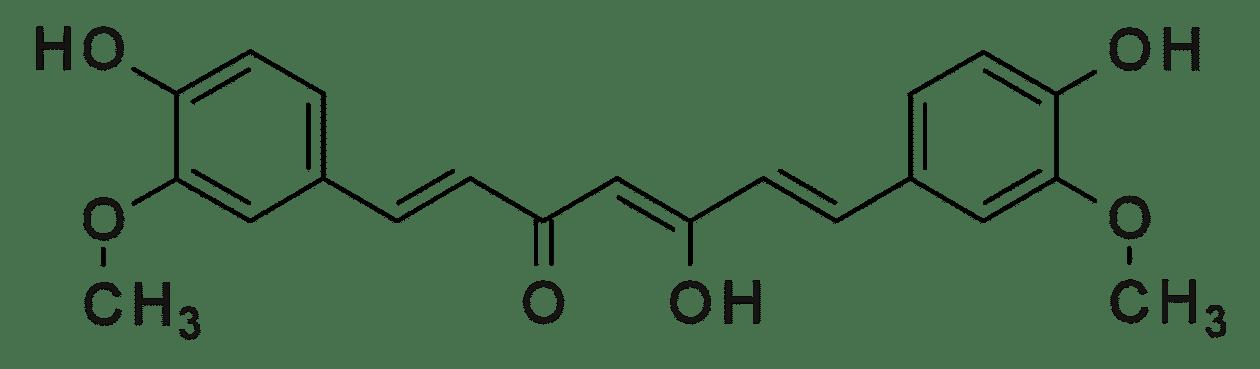 Curcumin structure
